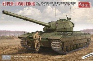 Amusing Hobby 35A013 Super Conqueror FV 214 Conqueror Mk I with spaced armour 1/35