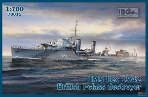 IBG 70011 HMS Ilex 1942 British I-class destroyer 1/700