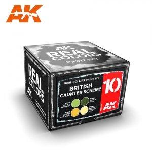 AK Interactive RCS010 BRITISH CAUNTER SCHEME SET (4x10ml)