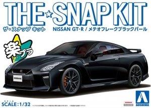 Aoshima 05640 The Snap Kit Nissan GT-R Meteor Flake Black Pearl 1/32