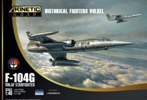 Kinetic K48090 F-104G RNLAF Starfighter Historical Fighters Volkel 1/48