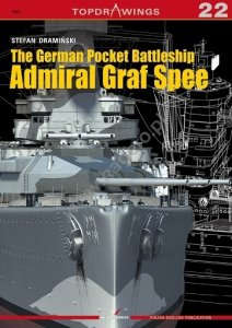 Kagero 7022 The German Pocket Battleship Admiral Graf Spee EN/PL
