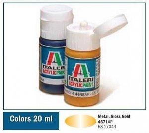 Italeri 4671 GLOSS GOLD 20ml