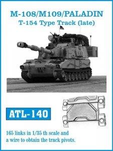Friulmodel 1:35 ATL-140 M108 / M109 / PALADIN T-154 Type track