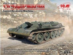 "ICM 35371 T-34 ""Tyagach"" Model 1944 Soviet Recovery Machine 1/35"