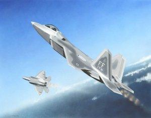 Trumpeter 01317 Lockheed F-22A Raptor 1/144