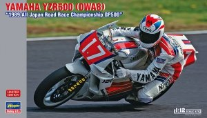 "Hasegawa 21718 YAMAHA YZR500 (0WA8) ""1989 All Japan Road Race Championship GP500"" (1:12)"