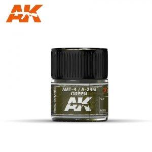 AK Interactive RC315 AMT-4 / A-24M GREEN 10ML