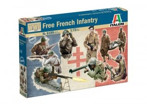 Italeri 6189 FREE FRENCH INFANTRY 1/72