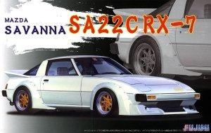 Fujimi 046174 ID-80 Mazda Savanna SA22C RX-7 1/24