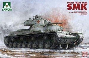 Takom 2112 Soviet Heavy Tank SMK 1/35