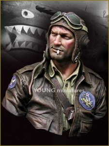 Young Miniatures YM1843 FLYING TIGERS 1942 1/10