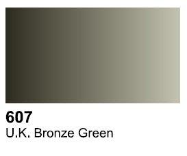 Vallejo 70607 Surface UK Bronze Green 17ml.