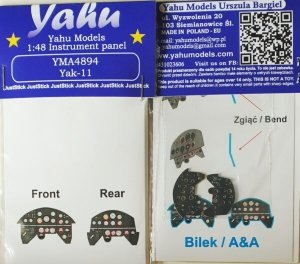 Yahu YMA4894 Yak-11 Bilek / A&A 1/48