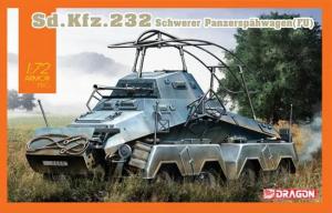Dragon 7581 Sd.Kfz. 232 Schwerer Panzerspähwagen (Fu) 1/72