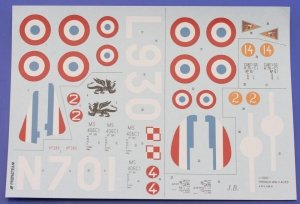 Eduard D48001 French WWII acces; H75/ MS-406 1/48