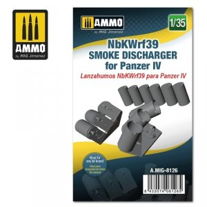 Ammo of Mig 8126 NbKWrf39 Smoke Discharged for Panzer IV 1/35