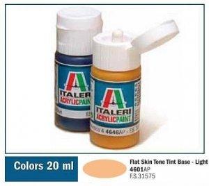 Italeri 4601 FLAT SKIN TONE TINT BASE - LIGHT 20ml