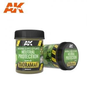 AK Interactive AK 8042 NATURAL LEAVES & PLANTS NEUTRAL PROTECTION 250ml