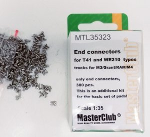 MasterClub MTL-35323 End connectors for M3 Lee/Grant/RAM T41 and WE210 types track 1:35