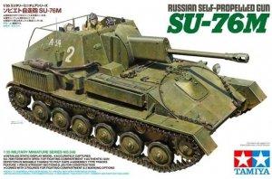 Tamiya 35348 Russian Self-Propelled Gun SU-76M 1/35