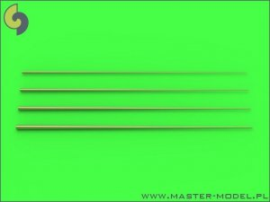 Master SM-700-047 Set of universal tapered masts No1 (length = 60mm each, diameters = 0,15/0,6mm; 0,2/0,8mm; 0,25/1mm; 0,3/1,2mm) 1:700