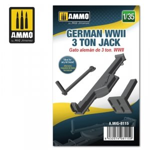 Ammo of Mig 8115 German WWII 3 ton Jack 1/35