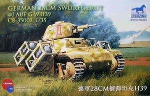 Bronco CB35002 German 28cm sWurfGerat 40 Auf G.W. H38/39 (1:35)