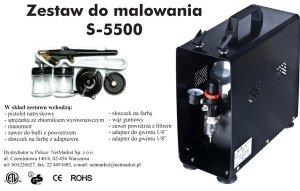 HS-S5500 Zestaw do malowania S5500