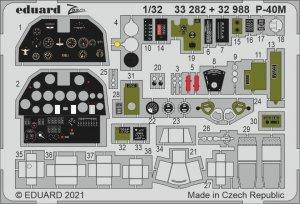 Eduard 33282 P-40M TRUMPETER 1/32