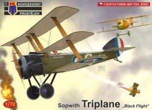 Kozavody Prostejov KPM0181 Sopwith Triplane Black Flight 1/72
