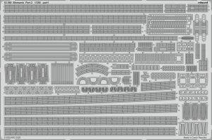 Eduard 53260 Bismarck part 2 1/350 TRUMPETER