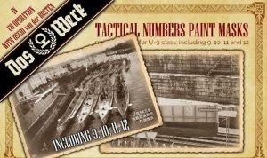 Das Werk A023 Tactical Numbers Paint Masks