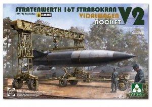 Takom 2123 Stratenwerth 16T Strabokran Vidalwagen V2 Rocket 1/35