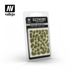 Vallejo SC416 Wild Tuft – Mixed Green