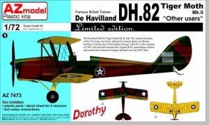 AZ Model AZ7473 DH-82A Tiger Moth other users (1:72)