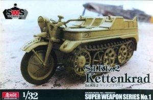 Zoukei-Mura SWPS01 Sd.Kfz 2 Kettenkrad 1/32