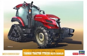 Hasegawa 66104 Delta Crawler Yanmar Tractor YT5113A 1/35