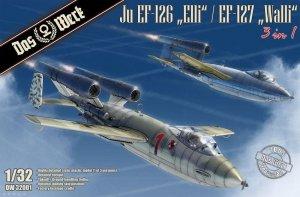 Das Werk DW32001 Junkers Ju EF-126 Elli / EF-127 Walli 1/32