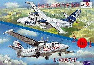 A-Model 01473 Let L-410UVP i L-410UVP-E10 Asian Spirit, WEA 1:144
