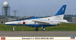 Hasegawa 07480 Kawasaki T-4 Blue Impulse 2019 1/48