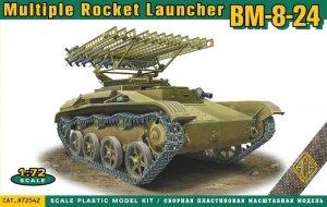 ACE 72542 BM-8-24 multiple rocket launcher (1:72)