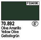 Vallejo 70892 Yellow Olive (87)