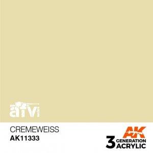 AK-Interactive AK 11333 Cremeweiss 17ml