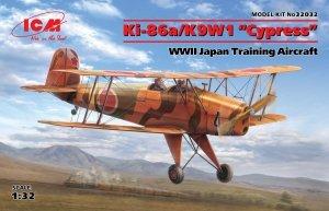 """ICM 32032 Ki-86a/K9W1 """"Cypress"""", WWII Japan Training Aircraft 1/32"""