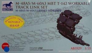 Bronco AB3529 M-48A5/M-60A3 MBT T-142 Workable Track Link Set 1/35