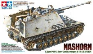 Tamiya 35335 Nashorn 8.8cm Pak43/1 auf Geschutzwagen III/IV(Sd.Kfz.164) (1:35)
