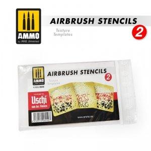 Ammo of Mig 8049 Airbrush Stencil 2 maski do malowania