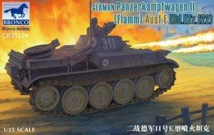 Bronco CB35124 German Panzerkampfwagen II (Flamm) Ausf.E (1:35)