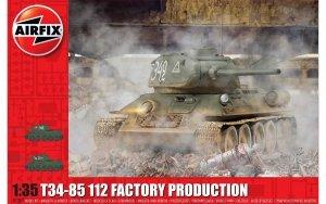 Airfix 1361 T34/85, 112 Factory Production 1/35